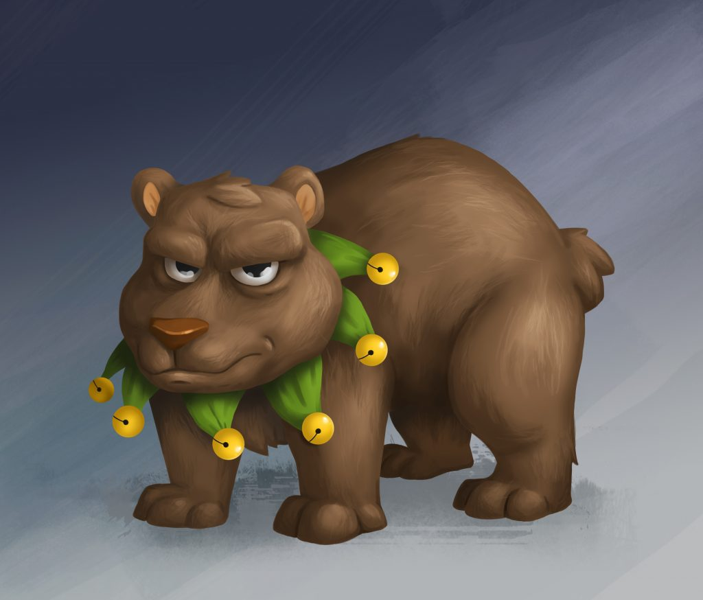 Bear Game Character Design