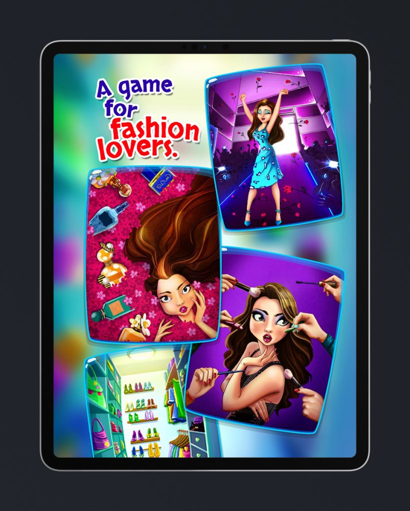 A Match 3 Mobile Game For Fashion Lovers