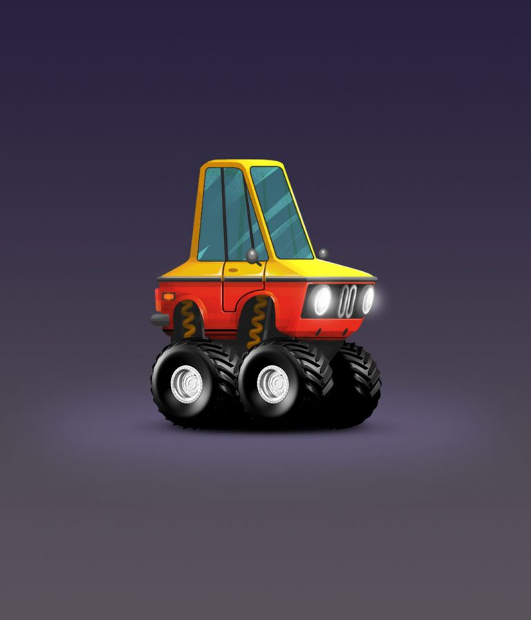 BMW 2002 Minimalist Design Game Car Design