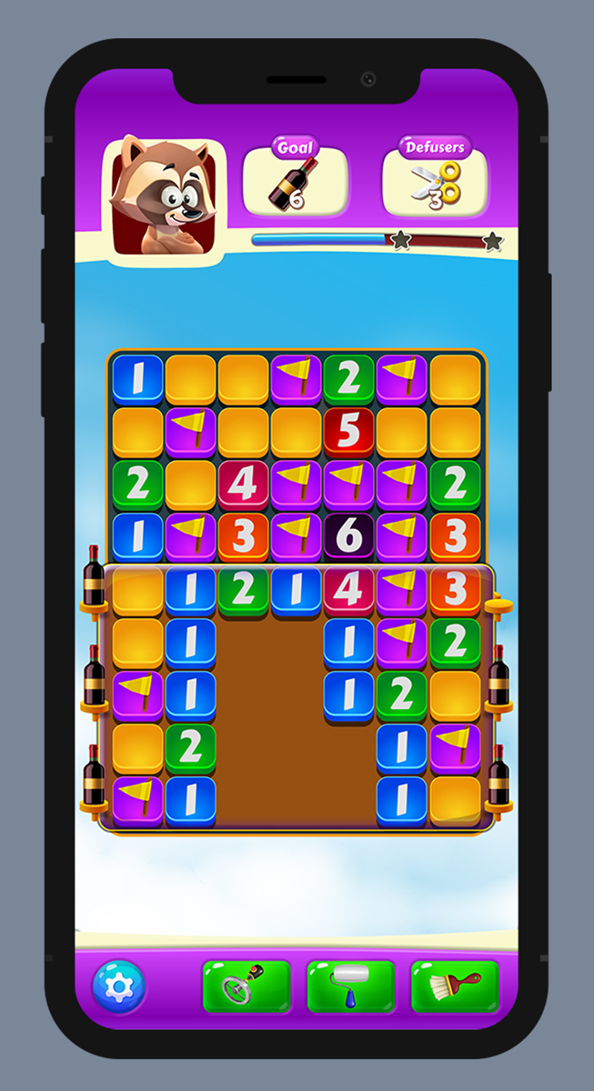 Jazz Minesweeper UI UX 1