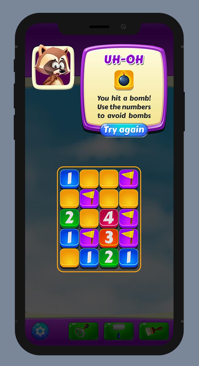 Jazz Minesweeper UI UX 4