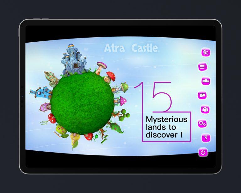 Kids Educational Game UI Design 1