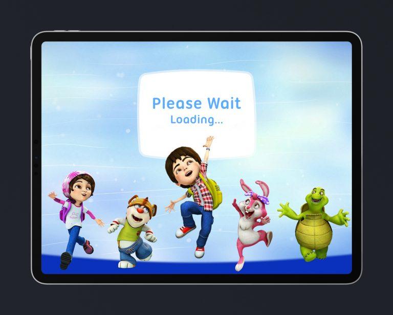 Kids Educational Game UI Design 2 Loading Screen