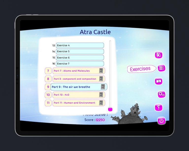 Kids Educational Game UI Design 3