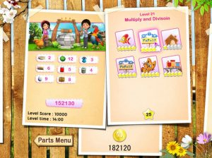Kids Educational Game UI Design Wood Style 2 Level Select Thumbnail