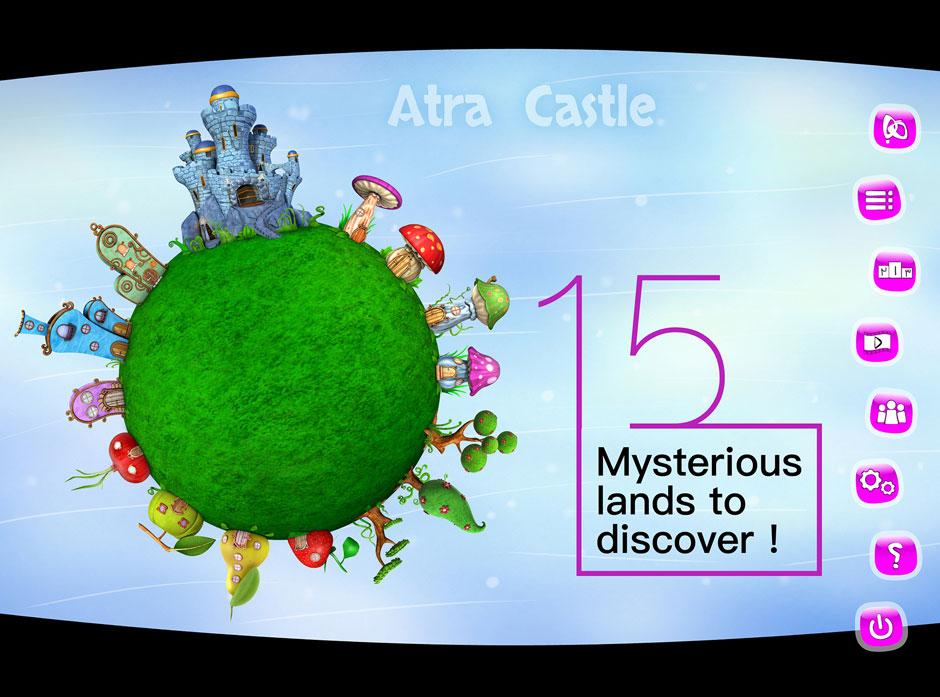 Kids Educational Game UI Design Thumbnail