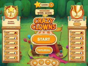 Cartoon Mobile Game UI Design - Main Menu