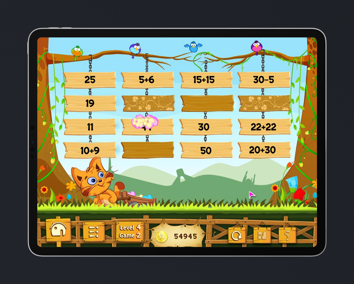 Math Kids Educational Game 12