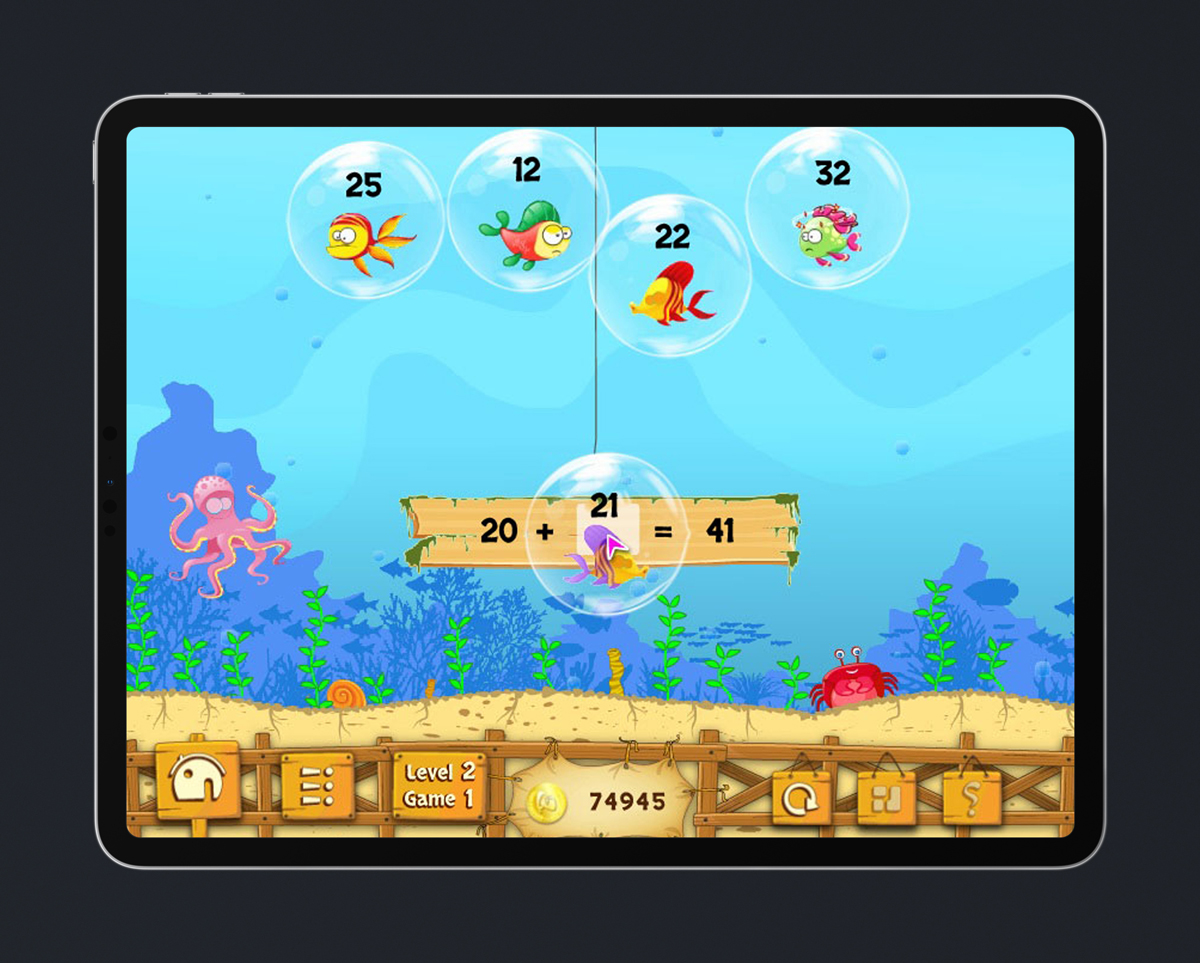 Math Kids Educational Game 13