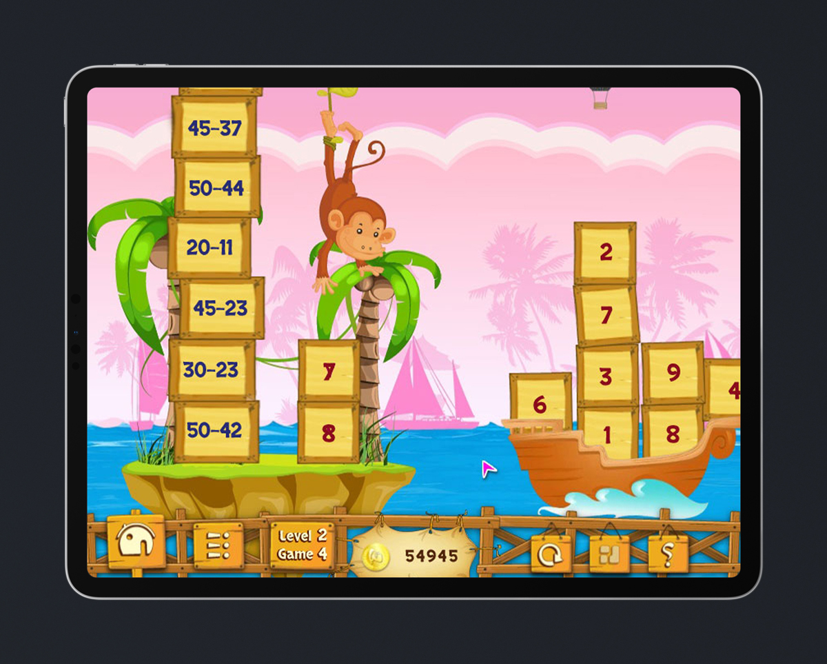 Math Kids Educational Game 6