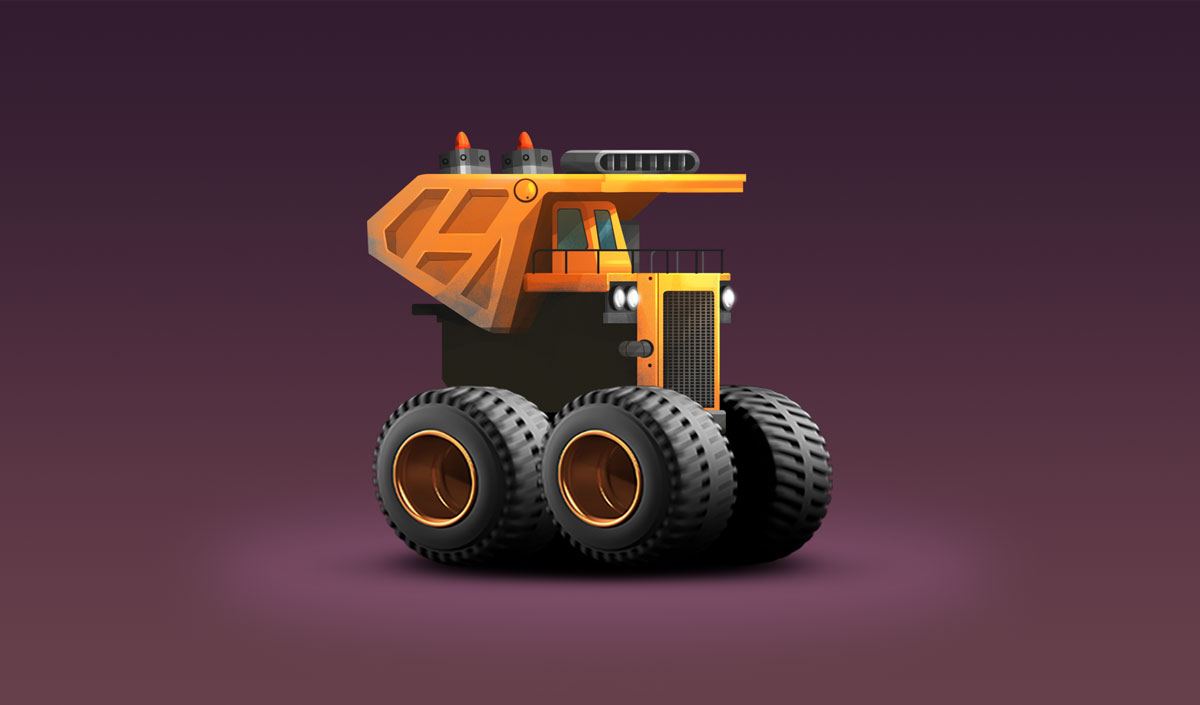 Old-Truck-Minimalist-Design-Game-Car-Design-4