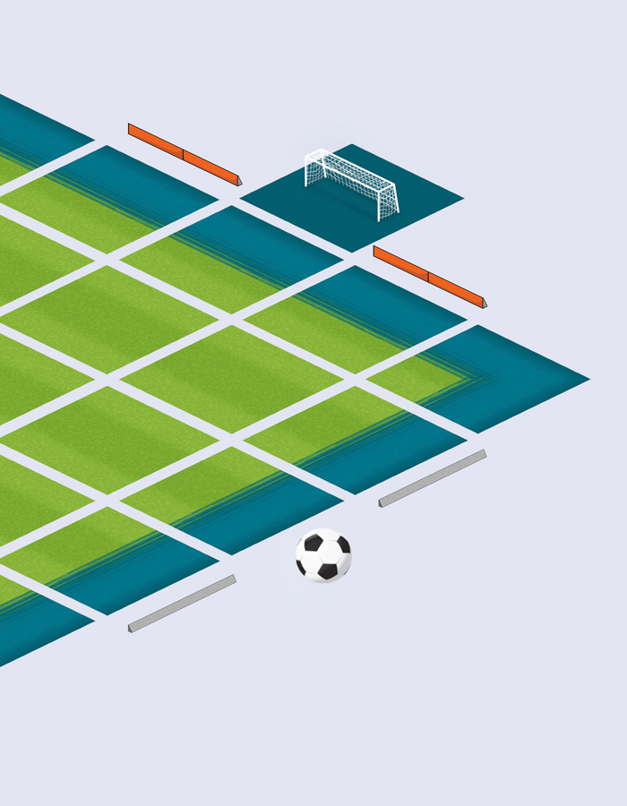 Soccer Stadium Isometric Game Tilesets