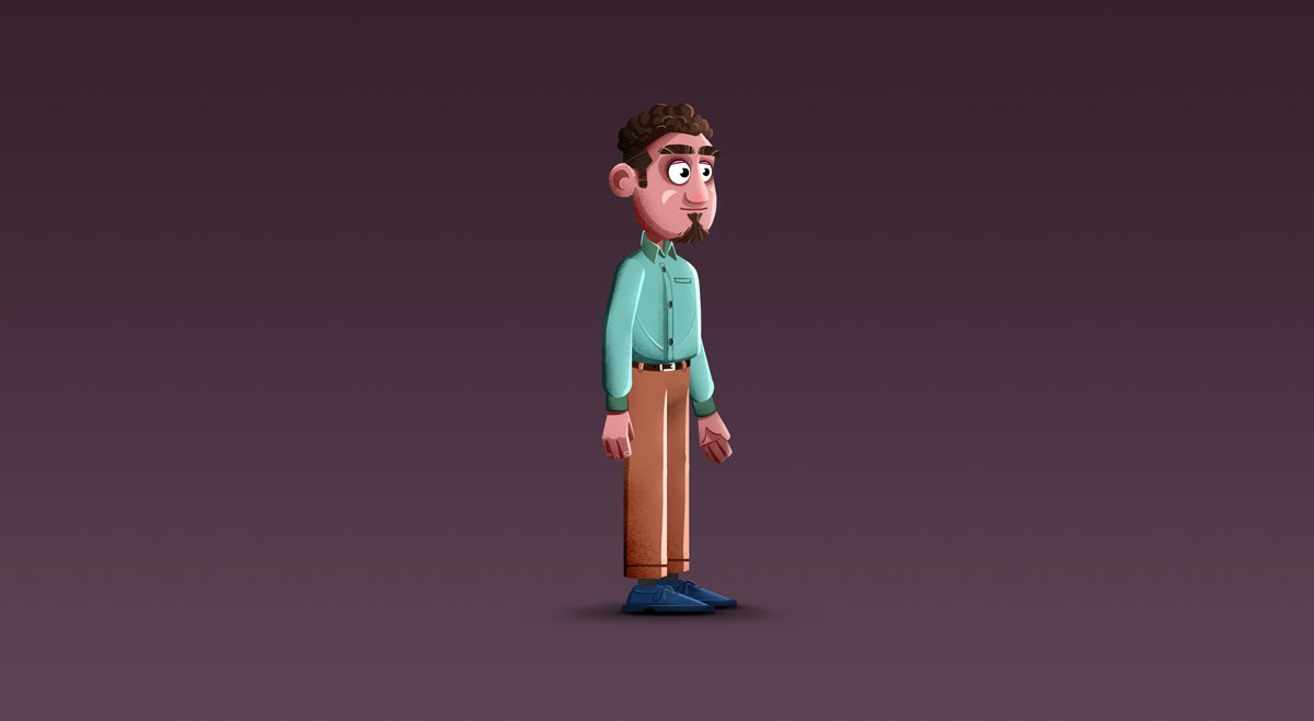 Platformer Game Male Character Design