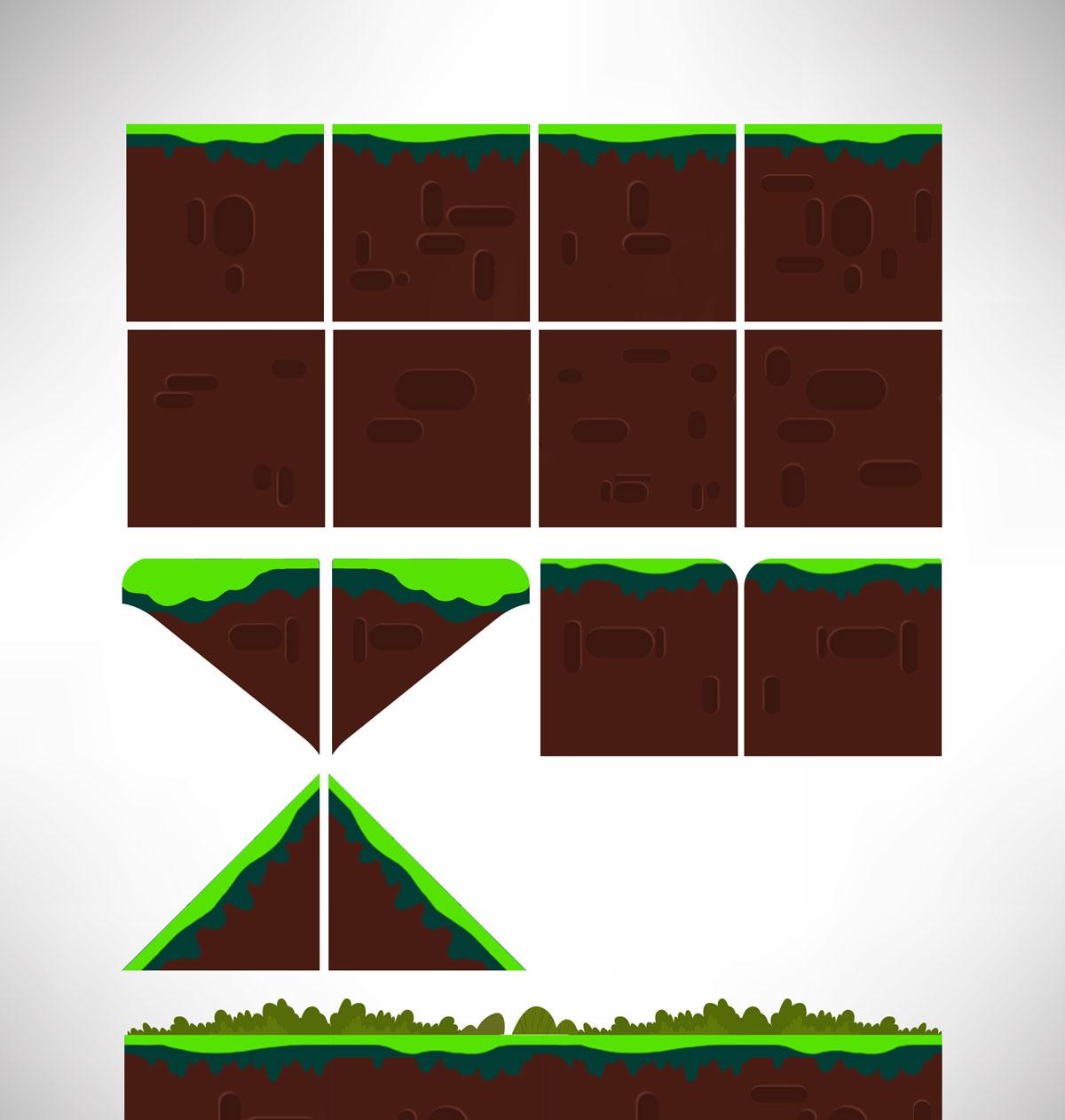 Platformer Game Tilesets