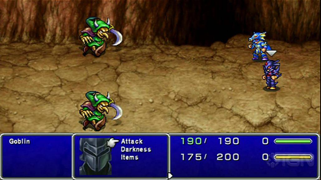 Game Development: Final Fantasy 4