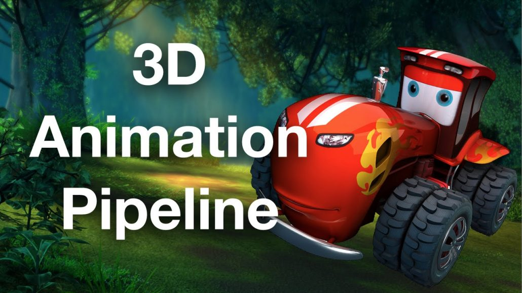 3D animation production