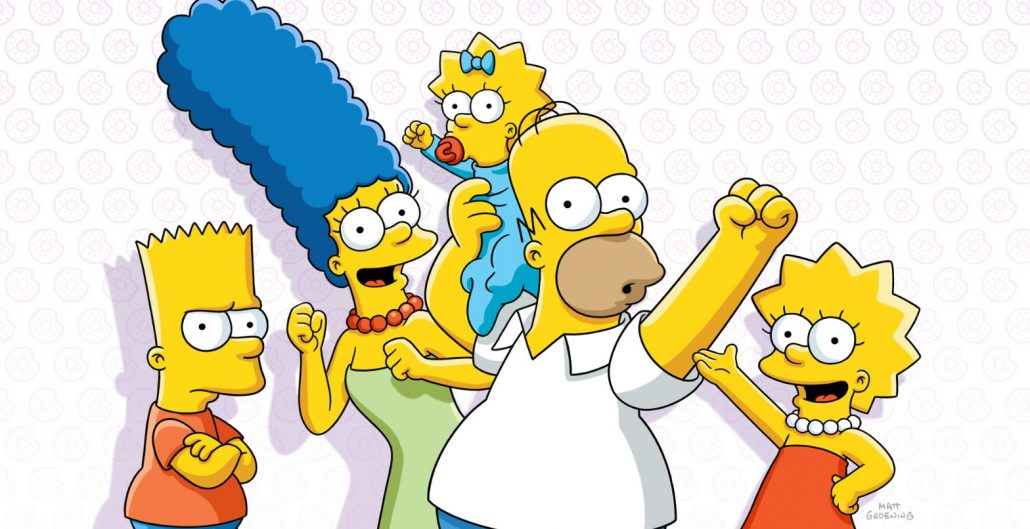the Simpsons - animation outsourcing - Simpson family poster