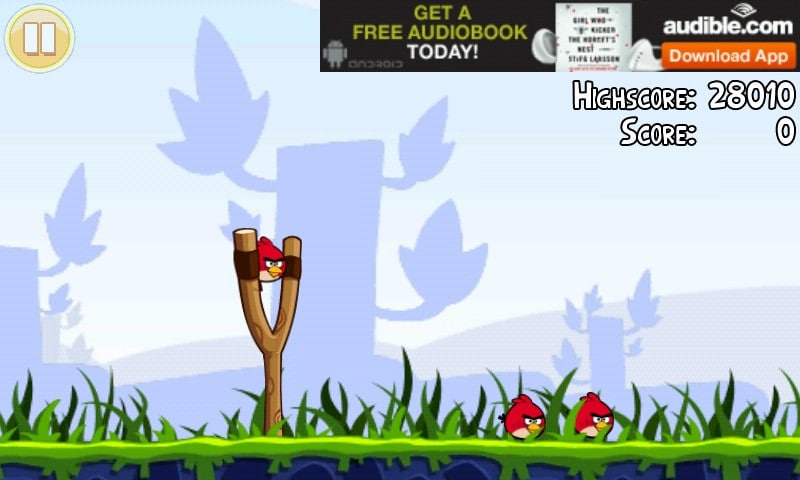 angry birds, banner ad, game monetization
