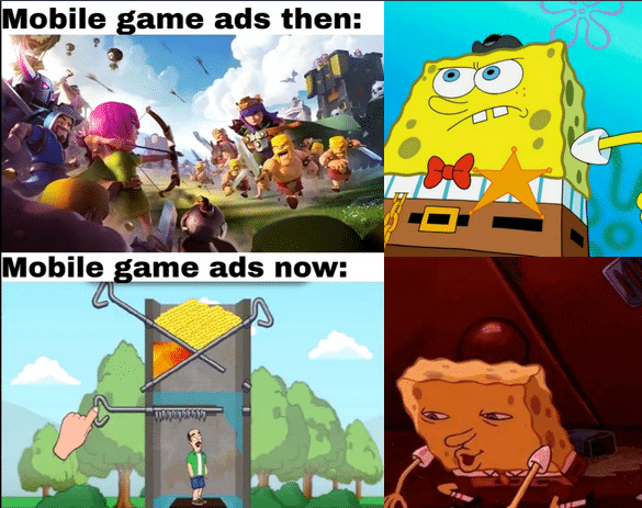 mobile game ads
