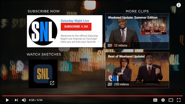 SNL, advertisement