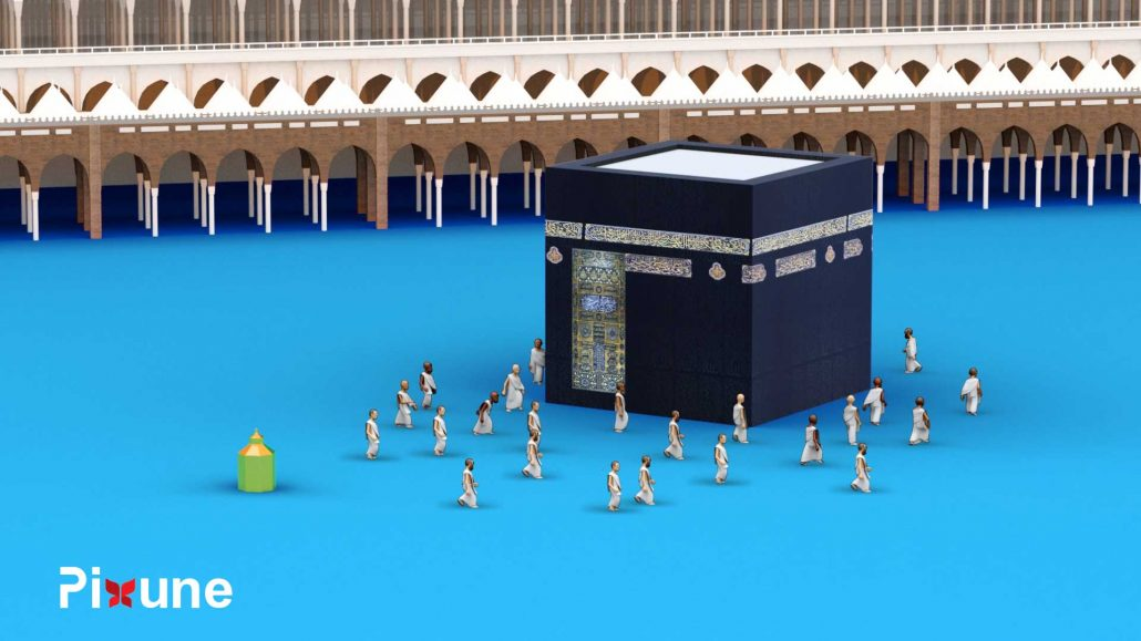 Kaaba 3D Design 3D Animated Explainer Video
